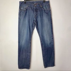 Prada Men's Classic Fit Blue Denim Jeans Size 34